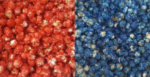 Poporn Spot Red Blue