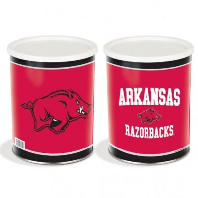 arkansas razorbacks tin