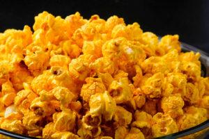 Barbecue Cajun popcorn