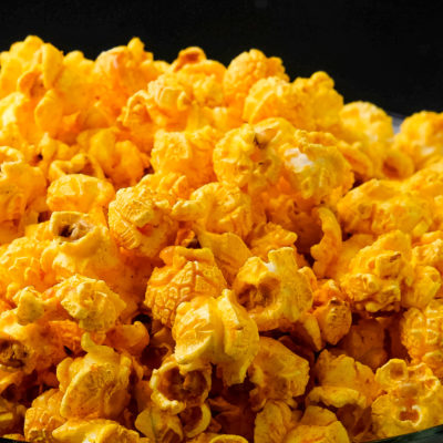 Barbecue Cajun popcorn