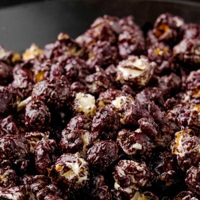 blackberry popcorn