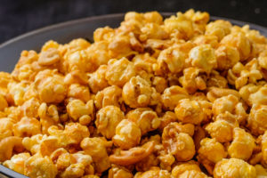carmel cashew popcorn