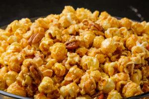 carmel pecan popcorn