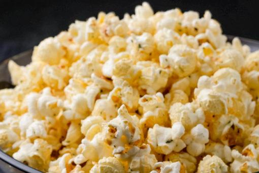 cheesy ranch popcorn