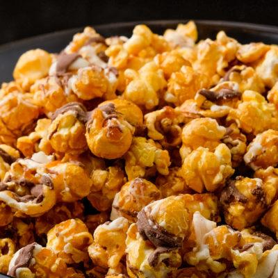 coco drizzle popcorn