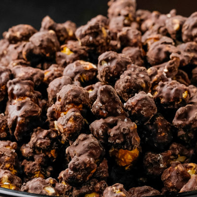 dark coco sea salt popcorn
