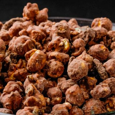 mint choco cookie popcorn