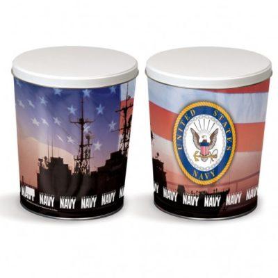 navy tin