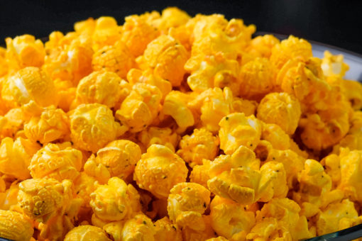spicy buffalo popcorn
