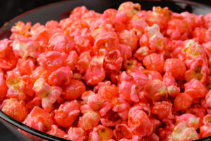 Watermelon Bubble Gum popcorn