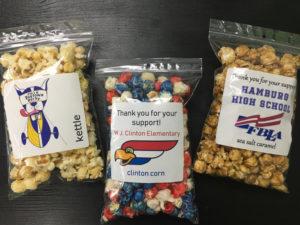 fundraising popcorn bags